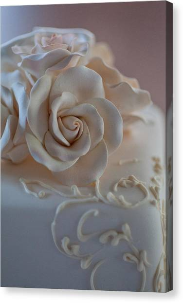 Decorative Cake Canvas Print