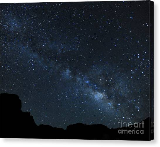 Deep In The Heart Of Texas Canvas Print