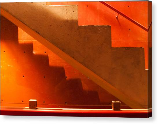 Deep Stairs Canvas Print by Dale Davis
