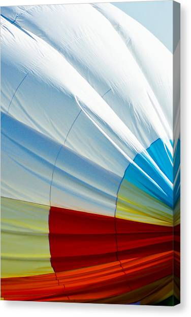 Deflating Canvas Print