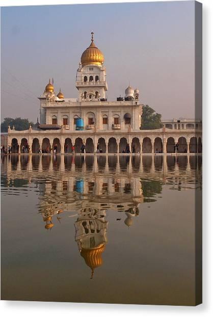 Sikhism Canvas Print - Delhi by Stefan Hajdu