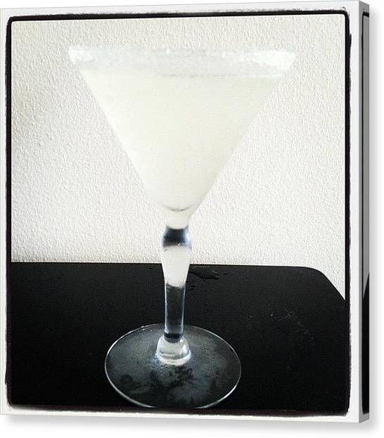 Bartender Canvas Print - Delicious Chill by Rose Champagne