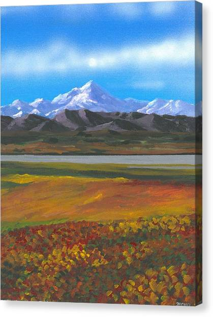 Sarah Palin Canvas Print - Denali by DC Decker
