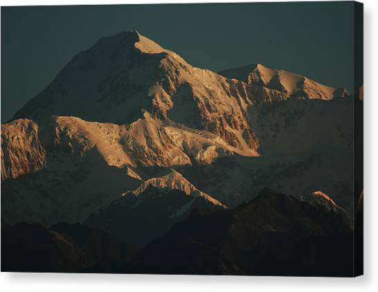 Denali Sunrise Canvas Print