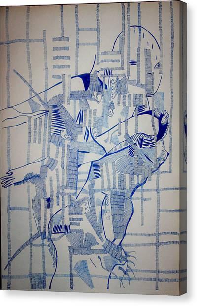Gloria Canvas Print - Depths by Gloria Ssali