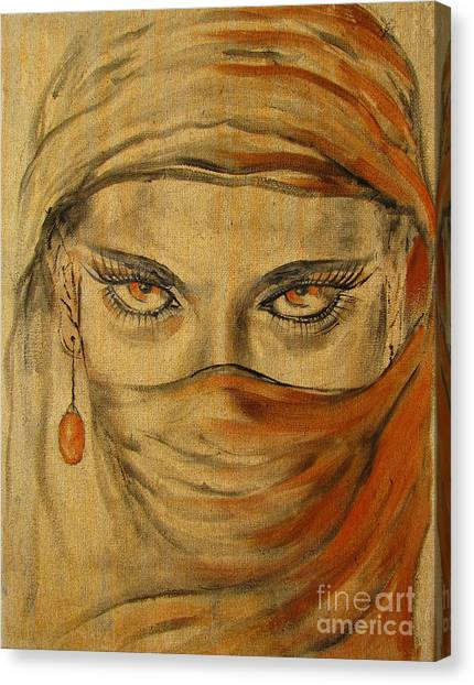 Desert Amber Canvas Print