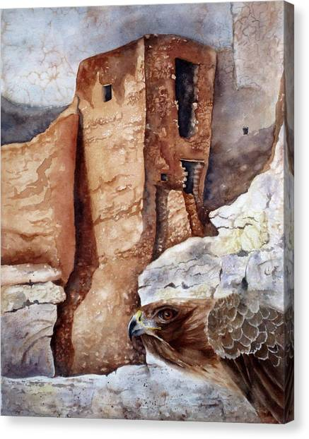 Desert Dwellers Canvas Print