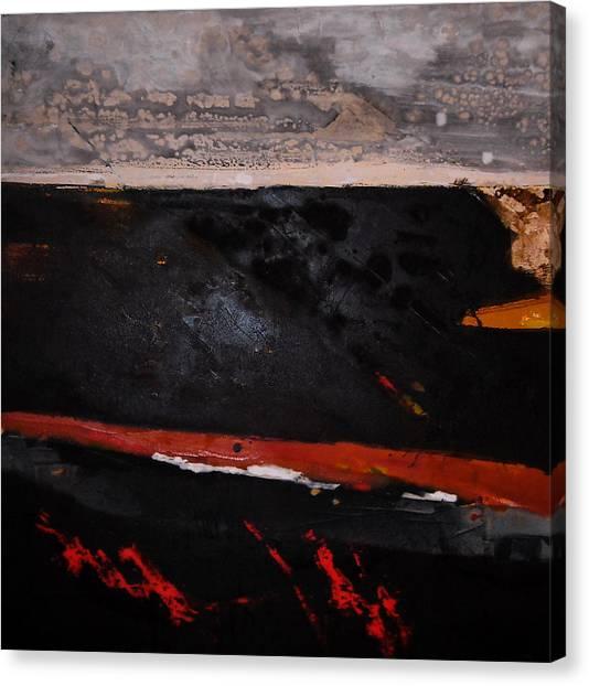 Desert Landscape Canvas Print by Mohamed KHASSIF