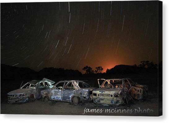Desert Nights Canvas Print by James Mcinnes