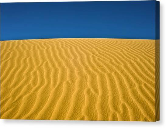Negev Desert Canvas Print - Desert Sand Dune by Photostock-israel