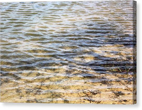 Designs By Nature - Ripples Canvas Print