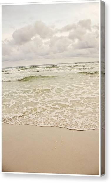 Destin Beach Canvas Print by Tiffany Zumbrun