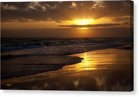 Destin Sunset  Canvas Print