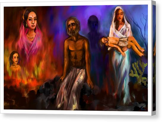 Destiny And Values Canvas Print