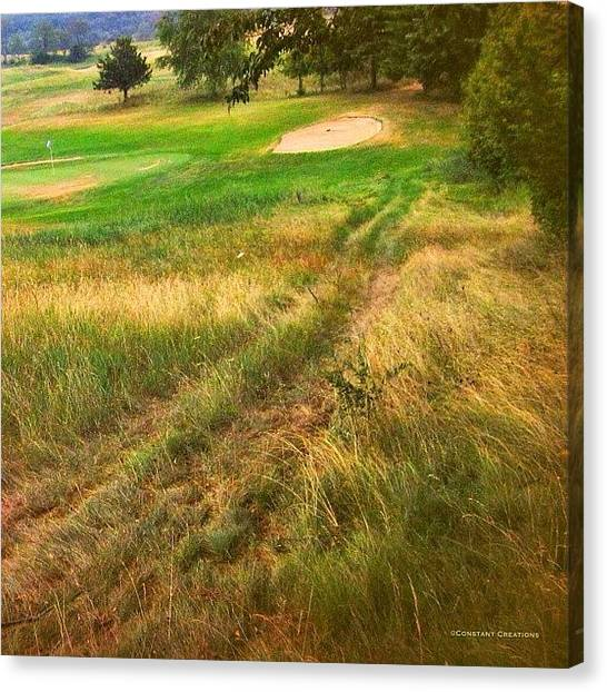 Wisconsin Canvas Print - Devils Head Golf Course (variations) by Constant Creations