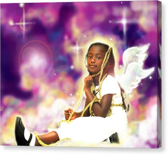 Diamond.angelic 2 Canvas Print