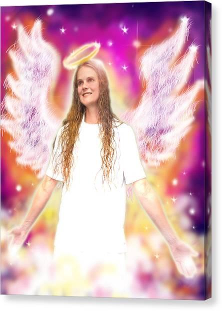 Diamond.angelic 4 Canvas Print