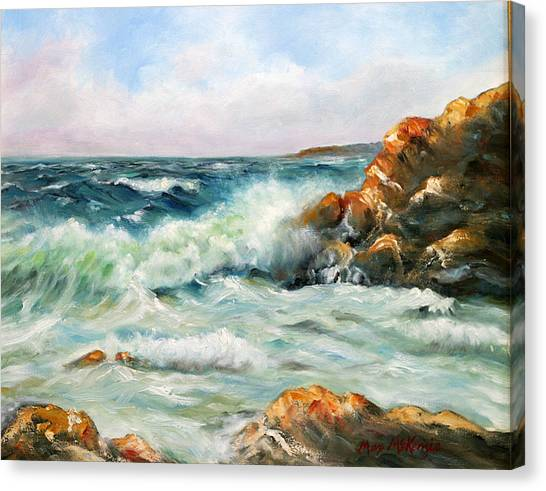 Diane's Cove Canvas Print by Max Mckenzie