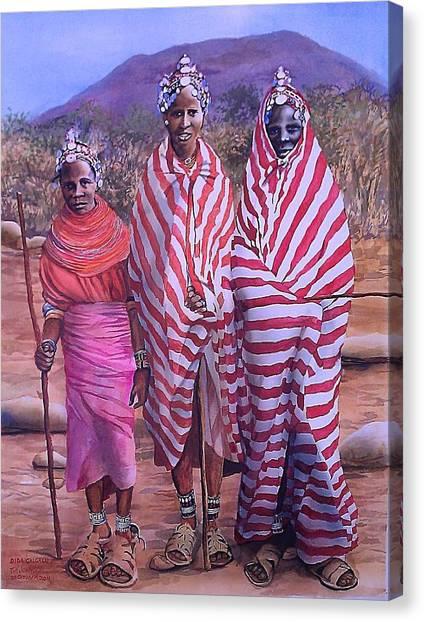 Dida Galgalu Canvas Print
