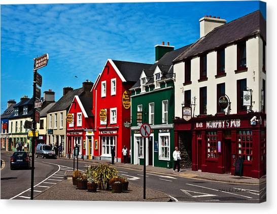 Dingle Bay Color Canvas Print