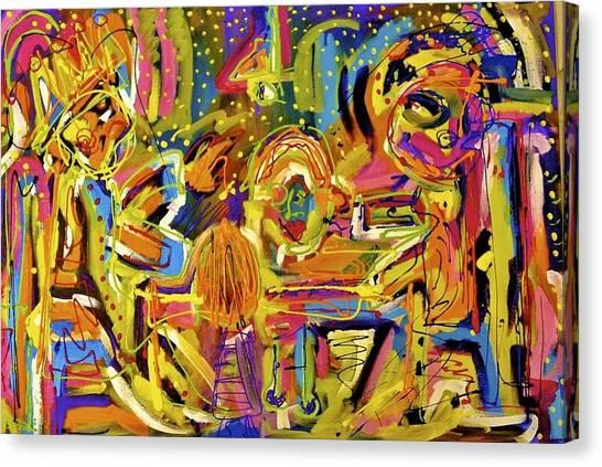 Dinner Table  Canvas Print by Isaac Rudansky