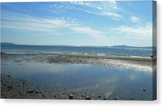Discovery Beach Park Canvas Print by Lee Yang