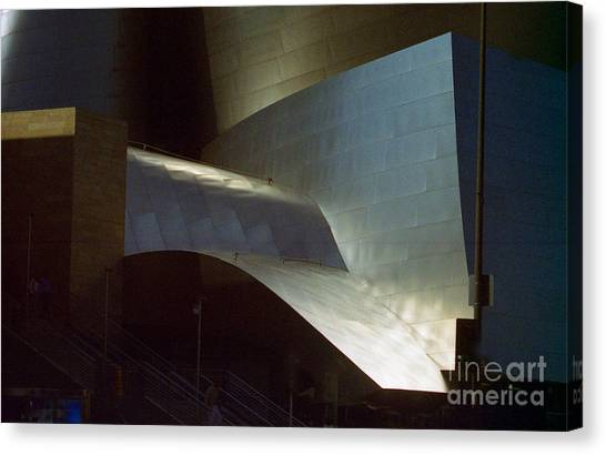 Disney At Dusk 2 Canvas Print by Ron Javorsky