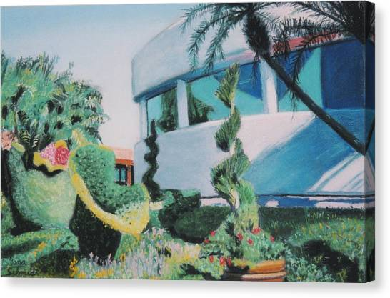Disney Epcot Topiary Canvas Print