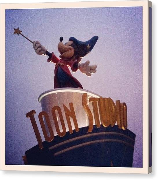 Mice Canvas Print - Disneyland Paris #walt #disney #studios by Sebastiaan Van der Graaf