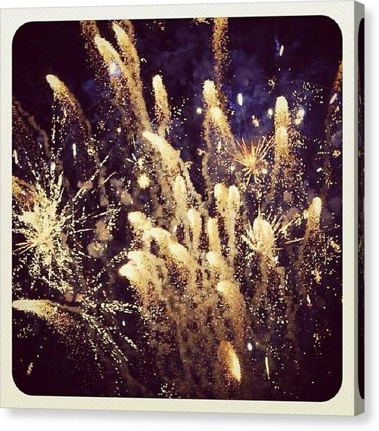 Presentations Canvas Print - #display #celebration #fireworks by Christinaashley Huynh