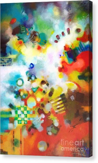 Dissolving Obstacles Canvas Print
