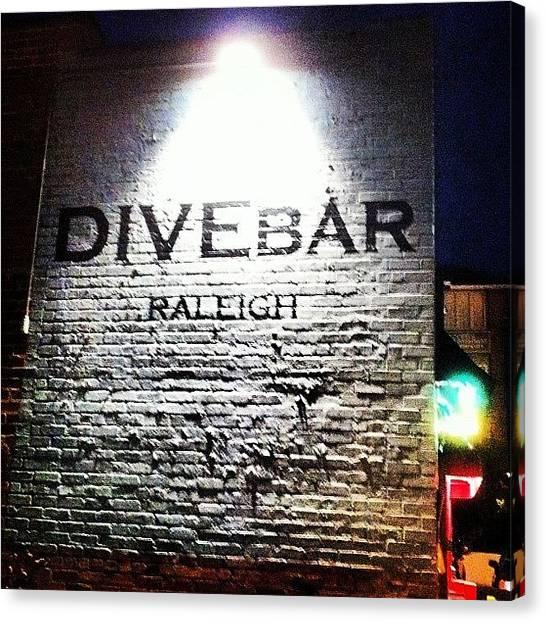 South Carolina Canvas Print - Divebar by Jeff Kincade