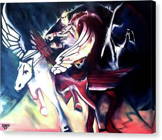 Divine Madness Canvas Print
