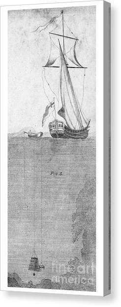 Diving Bell Canvas Print - Diving Bell, 18th Century by Granger