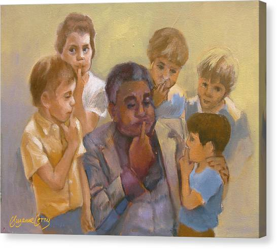 Dizzy Gillespie Embouchure Canvas Print