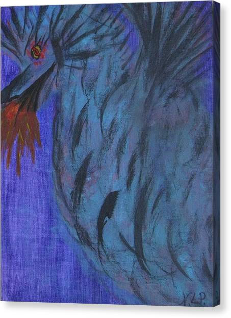 Do Not Dare The Dragon Canvas Print
