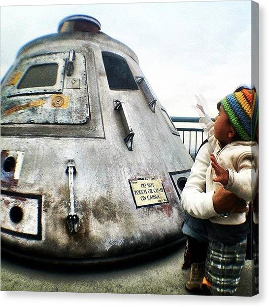 Fame Canvas Print - Do Not Touch Capsule | #universal by Tony Macasaet