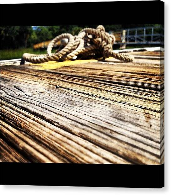 Marshes Canvas Print - #dock #high #tides #south #lowcountry by Megan Nicole