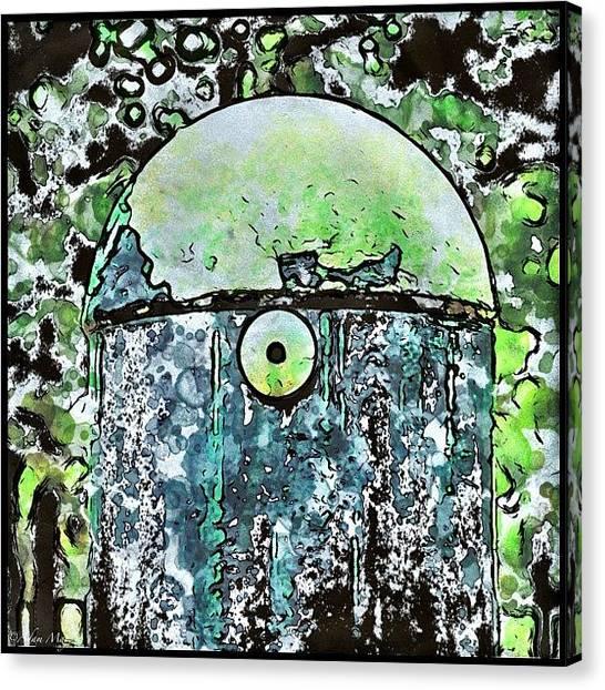 Iphone 4 Canvas Print - Doctor Who Reject? - Or Newfangled by Photography By Boopero