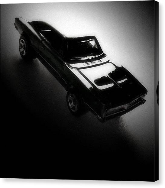 Dodge Canvas Print - Dodge Charger by Massimiliano Fabrizi