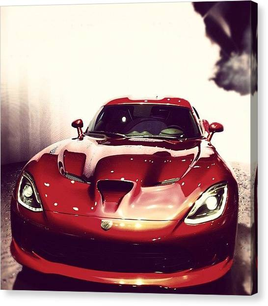 Vipers Canvas Print - #dodge #viper #car by Ivan Maressov