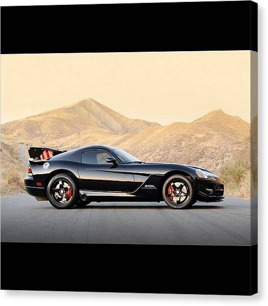 Vipers Canvas Print - #dodge #viper #carporn by Exotic Rides