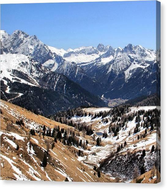 Landscapes Canvas Print - Dolomite's Landscape by Luisa Azzolini