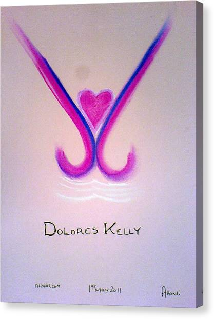 Dolores Kelly Canvas Print