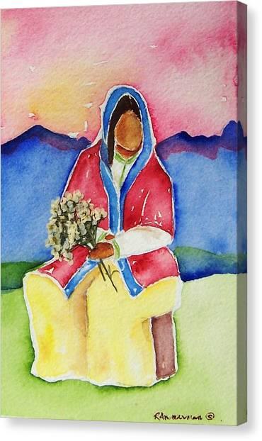 Dolores Canvas Print by Regina Ammerman