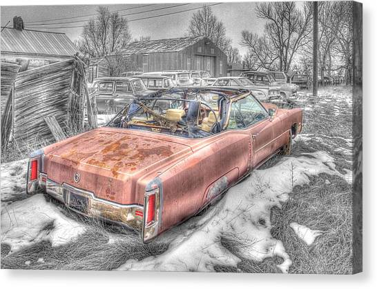 Done Cruisin' Canvas Print