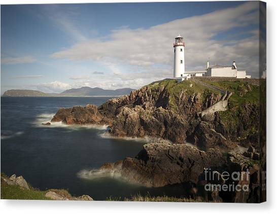 Donegal Lighthouse Canvas Print by Andrew  Michael