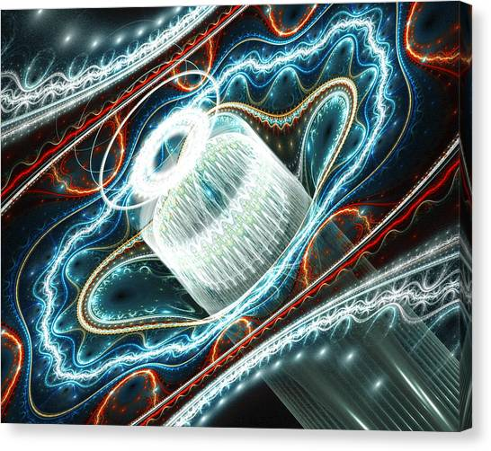 Dont Exhale Th Edit Canvas Print by Drake Lock