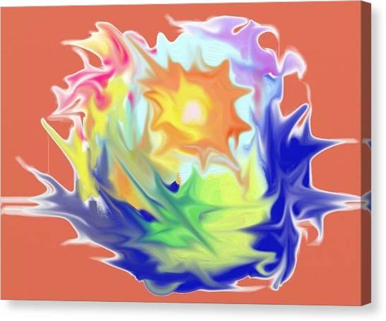 Doodle8 Canvas Print