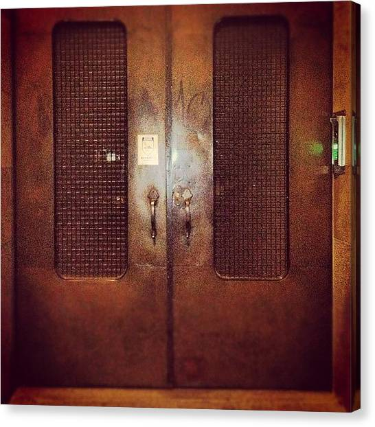 Steampunk Canvas Print - #door#photography#art#steampunk#prison by Jenni Martinez